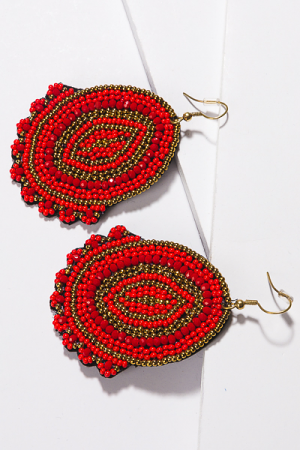 Cici Earring, Red