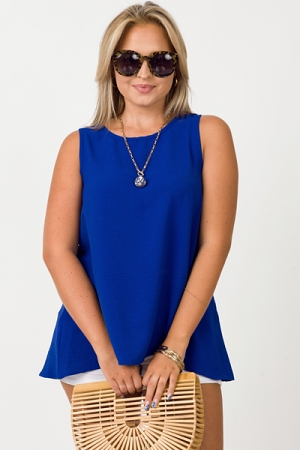 The Essential Tank Top, Royal