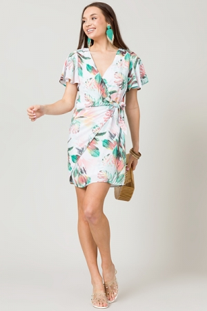 On Vacation Wrap Dress