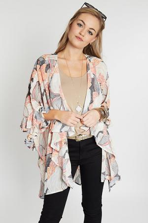 Hearts A Flutter Kimono