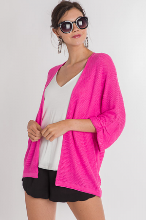 Summer Lovin' Cardi, Pink