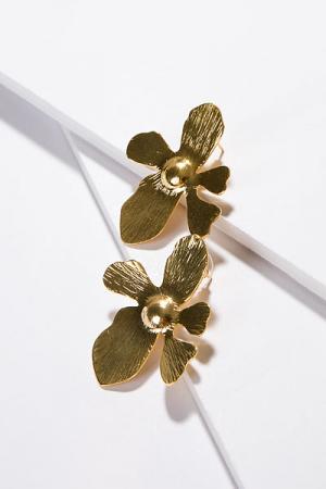 T. Jewels Orchid Flower Earring