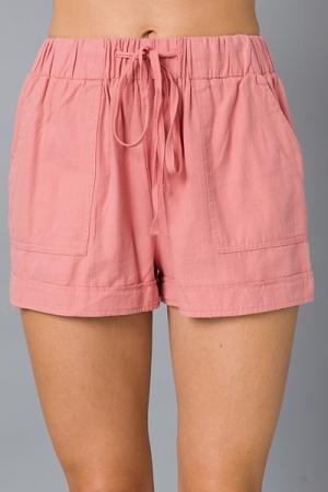 Pocket Shorts, Pink