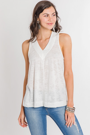 Outdoors Tank, White