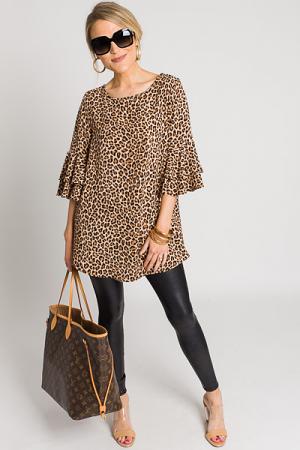 Leopard Lady Blouse