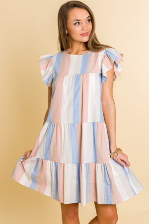 Sandy Stripes Babydoll