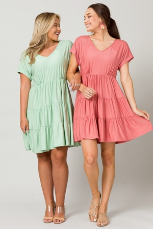 Easy Going Dress, Canyon Clay