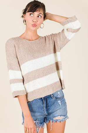 Sugar Stripes Sweater
