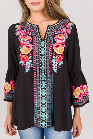 Remi Embroidery Tunic
