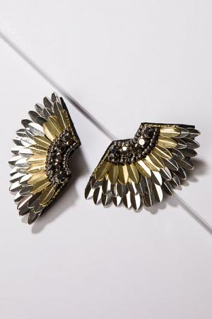Spike Wing Earring