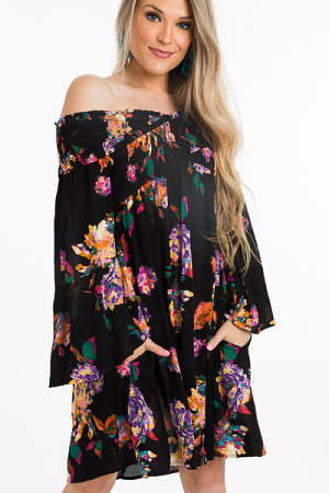 Olivia Off Shoulder Dress