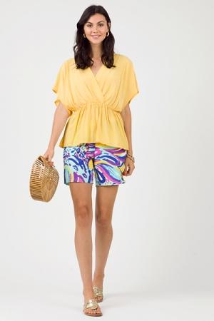 Ocean Current Knit Shorts