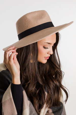 Blank Band Hat, Tan