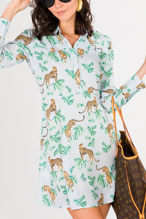 Jungle Collared Dress