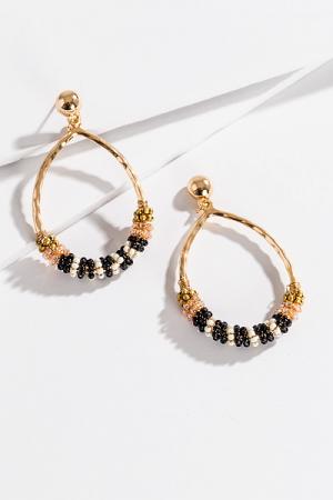 Sally Swing Earring, Black