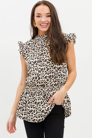Smockery Leopard Blouse