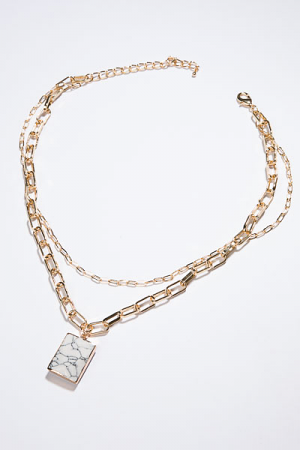 Lux Lock Necklace