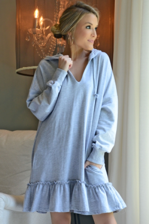 Comfy Cute Hooded Dress