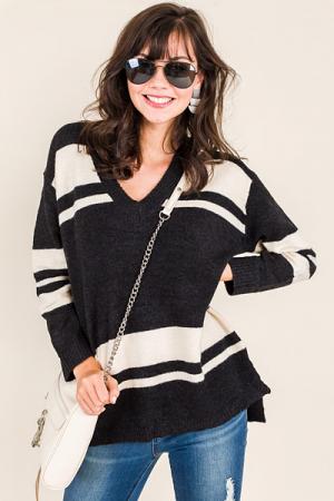 Old School Vneck Sweater