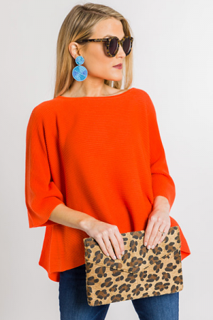 Spring Fling Sweater, Orange