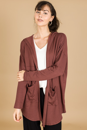 Absolutely Yummy Cardi, Marsala