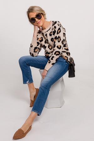 Look Back Leopard Sweater