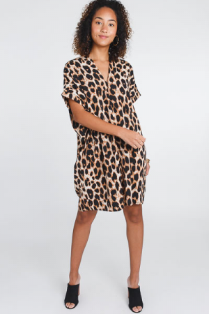 Bentley Dress, Leopard