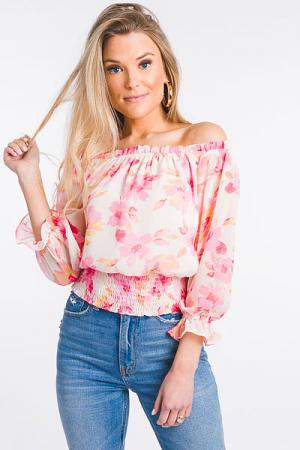 Carrington Floral Top