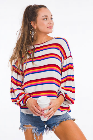 Soft & Sporty Long Sleeve Top