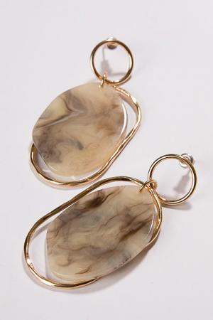 Acrylic Frame Earring
