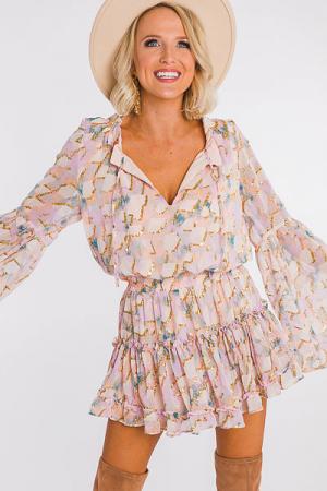 Pastel Magic Smocked Dress