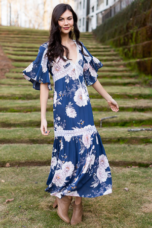 Cassie Floral Maxi