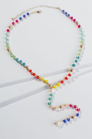 Funfetti Long Necklace