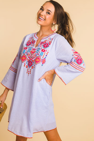 Obsession Embroidery Frock