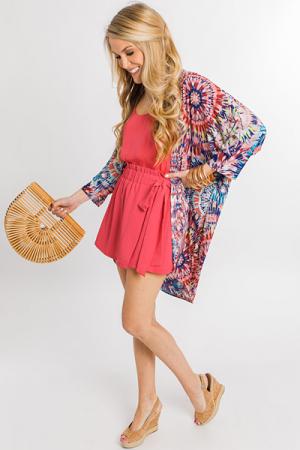 Stretchy Swirls Kimono