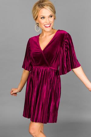 Vanessa Velvet Dress