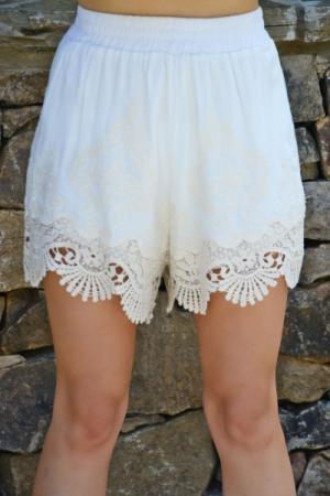 Dream in Cream Shorts