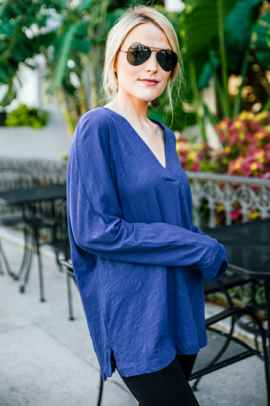 Picture Perfect Top, Blue