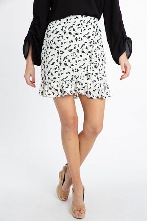 Katie Dotted Skirt