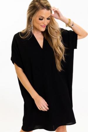 The Genie Dress, Black