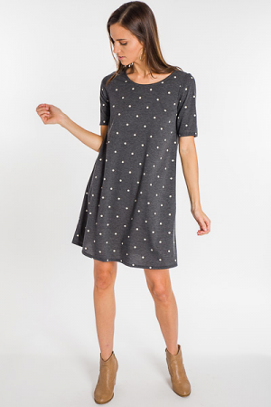 Dots For Days Knit Dress