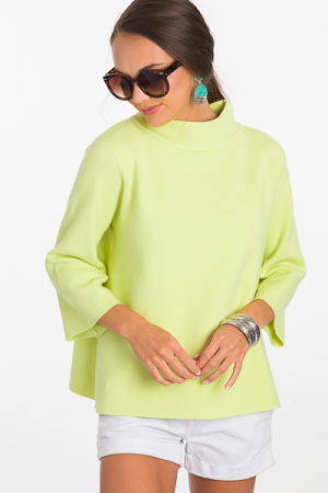 Audrey Sweater, Lime