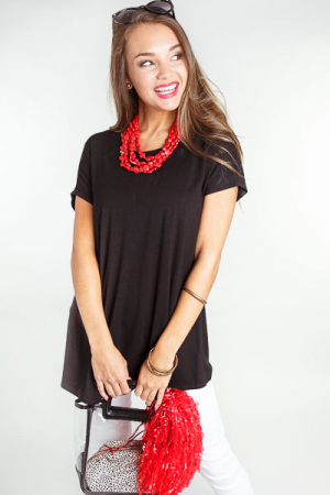 Go-To Tunic, Black