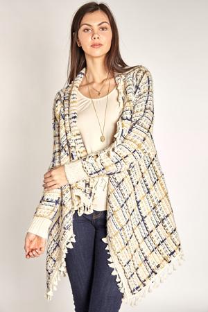 Golden Yarn Cardi