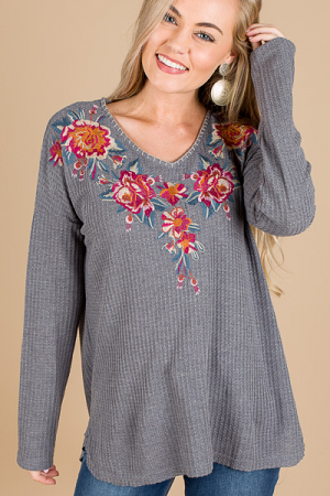 Ella Embroidered Thermal
