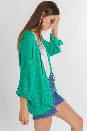 Summer Lovin' Cardi, Green