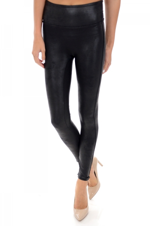 SPANX Leather Legging, Black