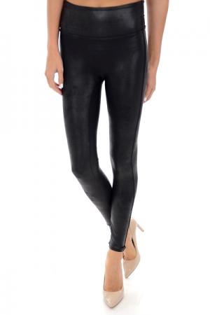 SPANX Leather Legging, Black