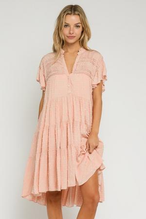 Swiss Sweetie Dress, Rose