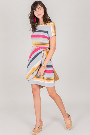 Fruit Stripes Dress